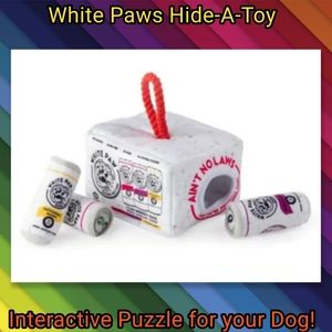 White Claws Dog Toy Interactive Puzzle Game LAST 1